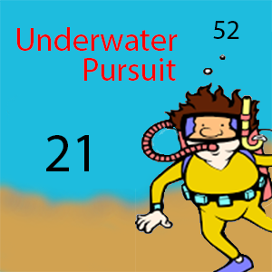 underwater pursuit
