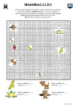 Multiple Maze (2, 3, 4 & 5)
