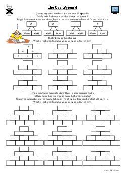 The Odd Pyramid (a)